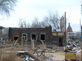 Здание бывшей церковно-приходской школы в Барнауле